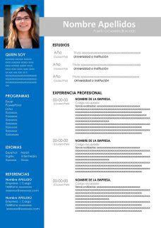 Modelo De Curriculum Vitae Nominal